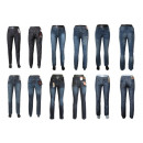grossiste Vetements en jean: Jeans femmes jeans longs mix