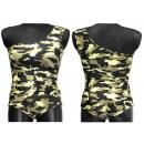 Großhandel Shorts: Asymmetrische Hemden, Blusen, Camo-Shorts für Frau