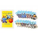 Spielkarten im Memopaar für Kinderfilm RIO