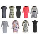Großhandel Kleider: Frauen lange Tuniken Kleider Mix 36-46