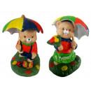 Porzellan Teddybär Figuren Spielzeug Dekorationen