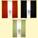 grossiste Rideaux & Tentures: RIDEAU SET - 2  PCS. 117x137 CM 100% coton