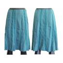 wholesale Skirts: Turquoise patterned midi skirts 38-42