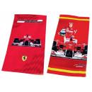 Asciugamani in spugna Ferrari F1 Alonso 75x150