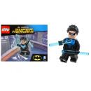 LEGO FIGUR Batman NIGHTWING SUPER HEROES UNIKAT