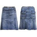 Großhandel Jeanswear: Modische Röcke. Kurze Jeansröcke. Jeans