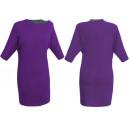 Großhandel Kleider: KLEIDER LONG PURPLE HEAT TUNICS