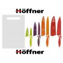 wholesale Knife Sets: KITCHEN KNIVES  CERAMIC BOARD Höffner 9+ ELEM.