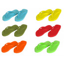 Slippers kinder schoenen op het strand zwembad 25-