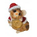 Souris euro figurines jouets ornements décoration