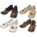 Großhandel Schuhe: SCHUHE  Damen-Lederschuhe Loafers PEPEGI 36-41