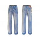 wholesale Working clothes: Men's long trousers blue jeans