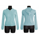 Großhandel Pullover & Sweatshirts: Frauen-Sweatshirt Ramone Hemden mit Haube