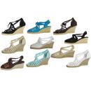 Großhandel Schuhe: ESPADRILY BONDED SCHUHE FÜR LADY CABINET 36-41