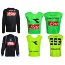 SSC NAPOLI Fußballtrikots T-Shirt Diadora