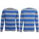 Großhandel Pullover & Sweatshirts: PULLOVER HERREN CUBUS SWEATS BLUE GREY WARM