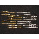 wholesale Hair Accessories: Hair pins hair clips artificial jewelry 100 items
