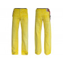 wholesale Working clothes: Men's long pants work jeans yellow