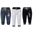 Kurze Hosen  geerntete Jeans-Shorts
