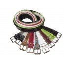 wholesale Belts: Striped webbing belt for women's trousers