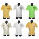 Chemises t-shirts manches courtes hommes