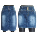 wholesale Jeanswear: Skirts denim skirts blue 25-31