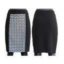 Großhandel Röcke: Schwarze Röcke mit Midi-Muster 36-48