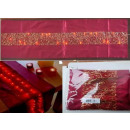 TABLE RUNNER BRIGHT RED 180 cm