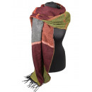 wholesale Scarves & Shawls:Winter Checked Scarf 01