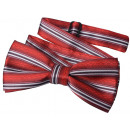 wholesale Ties: Bow Tie Kids Boys Red Lined