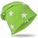 Kids Beanie Hat Small Star Green M