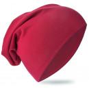 ingrosso Cappelli: I bambini Beanie  vino tinta unita L rosso