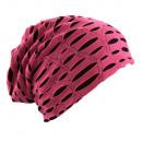 Großhandel Kopfbedeckung: Beanie Mütze Destroyed Vintage Pink