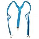 ingrosso Cinture: bretelle lunghi  stile forma a Y di colore solido a