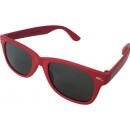 grossiste Vetement et accessoires: Enfants lunettes  de soleil wayfarer rouges
