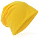 Beanie Mütze Unifarbe Gelb