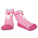 wholesale Shoes: Baby Slippers Cat Pink 20