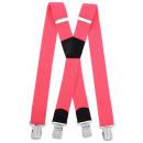 Lange Bretels X vorm 4cm breed Pink