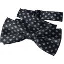 wholesale Ties: Bow Tie Kids Boys Black Grid