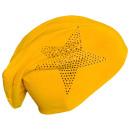 ingrosso Ingrosso Abbigliamento & Accessori: Beanie strass stella gialla