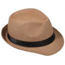 grossiste Cadeaux et papeterie: Panama Hat Fedora  chapeau de paille de chameau