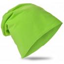 Großhandel Fashion & Accessoires: Kinder Beanie Unifarbe Grün XL