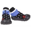 Großhandel Schuhe: Baby Hausschuhe Anker Schwarz 20
