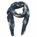 ingrosso Ingrosso Abbigliamento & Accessori: Slim sciarpa  scozzese fazzoletto Blue Sea
