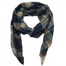 ingrosso Ingrosso Abbigliamento & Accessori: plaid sciarpa  sottile bandana blu notte