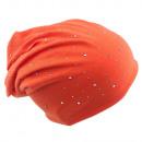 ingrosso Ingrosso Abbigliamento & Accessori: Beanie cristallo Rivetti Arancione