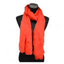 wholesale Fashion & Apparel:Crinkle Scarf Open Red