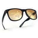 wholesale Sunglasses: Kids Nerd Sunglasses Black Gold