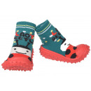 wholesale Shoes: Baby slippers Marienkäfer Green 19