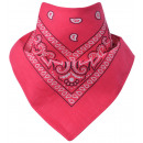 Großhandel Tücher & Schals:Bandana Paisley Pink